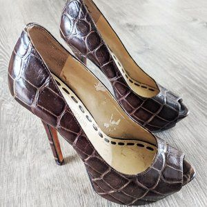 Enzo Angiolini Womens Heels Pumps Size 4M Size 4 S